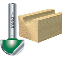 craft radius & cavetto router cutters