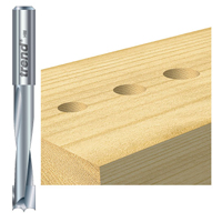 router plunge drilling
