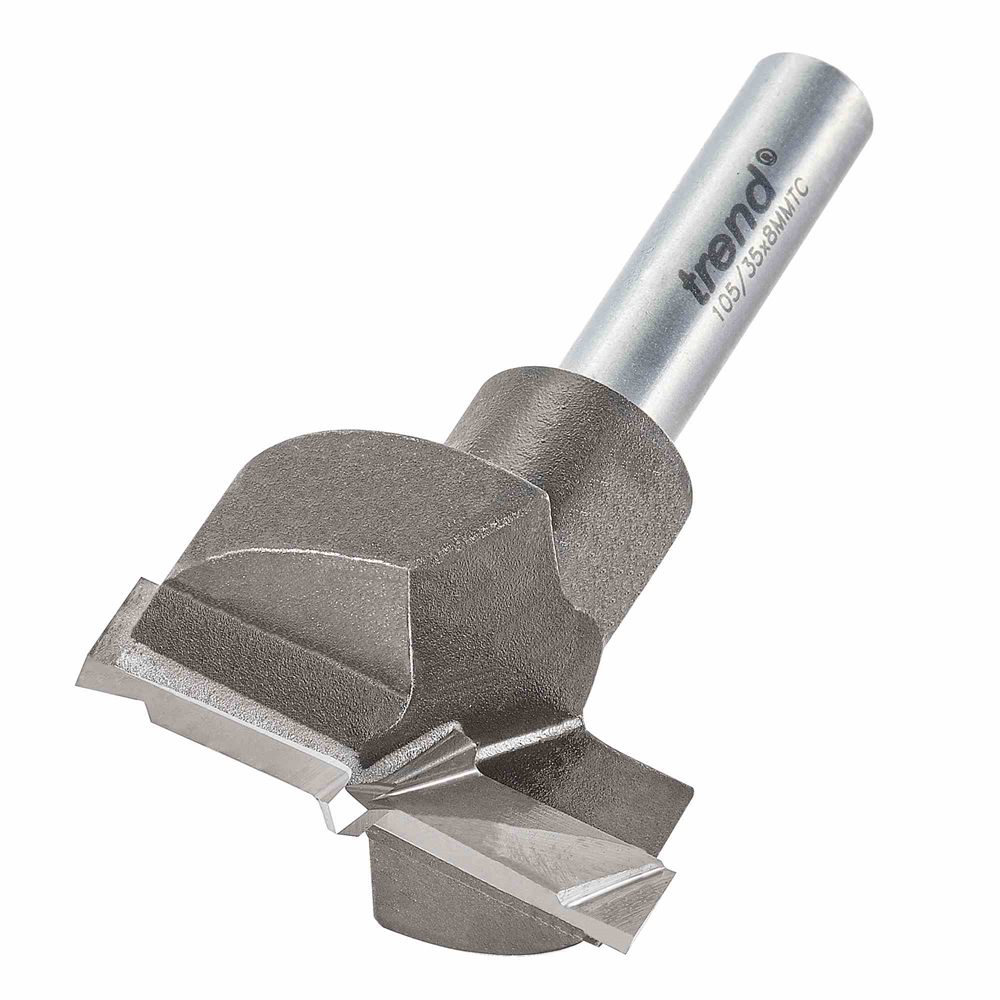 105/35X8MMTC - Router machine bit