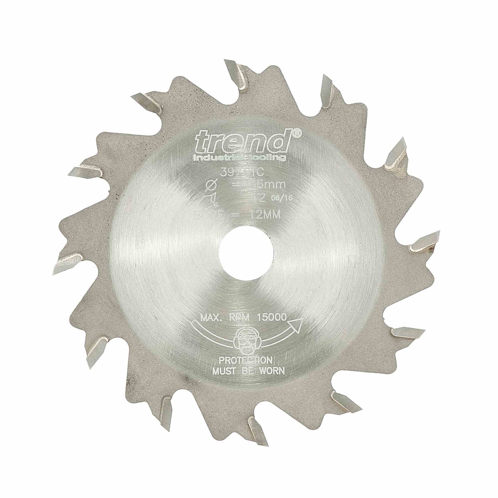 39/6TC - Slotter 2mm kerf 12mm bore