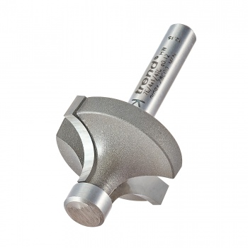 7E/4X1/4TC - Pin guided round over cutter