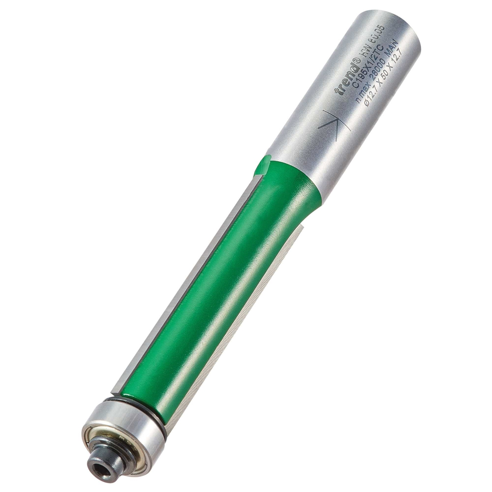 C195X1/2TC - Bearing guided trimmer 12.7mm diameter