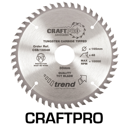 CSB/19040A - Craft saw blade 190mm x 40 teeth x 16mm