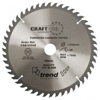 CSB/30048 - Craft saw blade 300mm x 48 teeth x 30mm