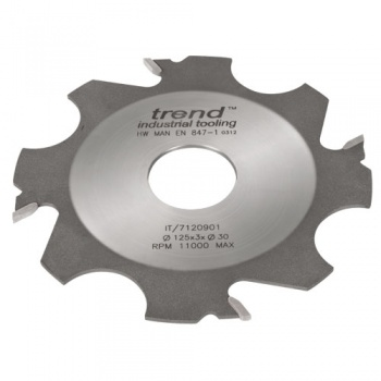 IT/7120911 - Adjustable grooving cutter 125x4x30mm