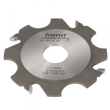 IT/7120921 - Adjustable grooving cutter 125x5x30mm