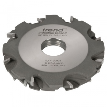 IT/7120947 - Adjustable grooving cutter 125x3-18x31.75mm