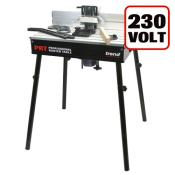PRT - Professional Router Table UK 230V - For UK sale only