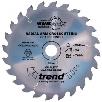 CC/216X60X30 - Saw blade crosscut 216mm x 60 teeth x 30mm