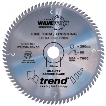 FT/160X48X20 - Saw blade fine trim 160mm x 48 teeth x 20mm
