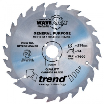 GP/190X24X30 - Saw blade general purpose 190mm x 24 teeth x 30mm