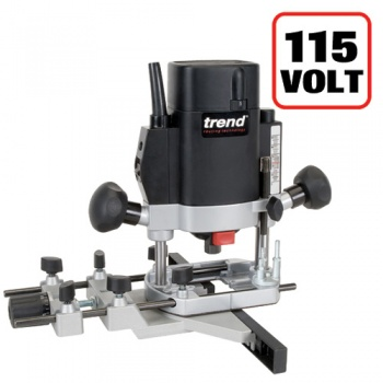 T5ELB - 1000W 1/4'' Variable Speed Router 115V - UK sale only