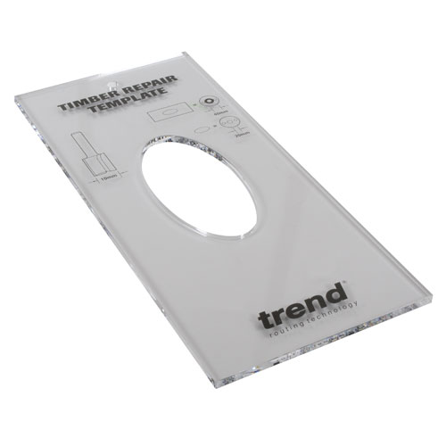 TEMP/TRKX8MM - Template Timber Repair kit