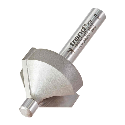 10H/1X1/4TC - Pin guided chamfer bevel cutter 45 degrees