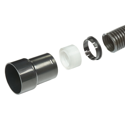 CRT/4 - Hose 39mm outside diameter x 3M and adapter