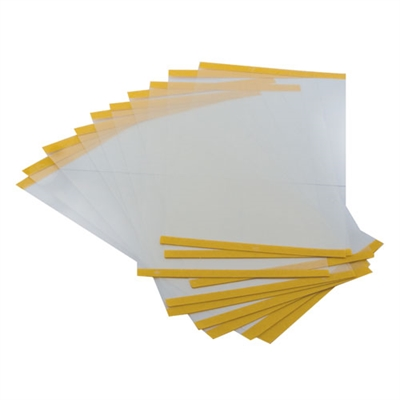 AIR/P/3C - AIR/PRO  Visor overlay - clear (10 Pack)