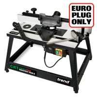 CRT/MK3/EURO - CraftPro Router Table MK3 230V Euro plug - Authorised distributors only