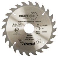 CSB/30032 - Craft saw blade 300mm x 32 teeth x 30mm