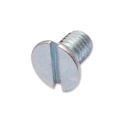 WP-SCW/09 - M5 x 8mm countersunk slot machine screw