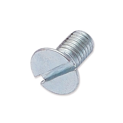 WP-SCW/13 - M5 x 10mm countersunk slot machine screw