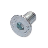 WP-SCW/18 - M6 x 12mm countersunk socket zinc clear machine screw
