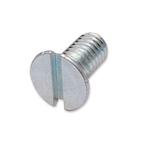 WP-SCW/25 - M6 x 12mm countersunk slot machine screw