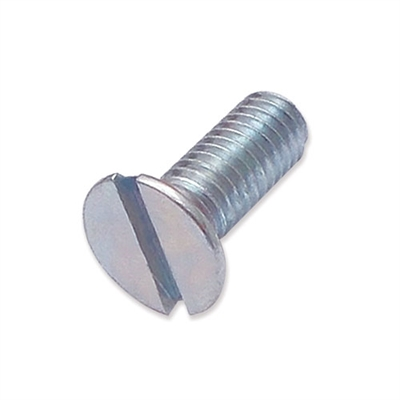 WP-SCW/26 - M6 x 16mm countersunk slot machine screw