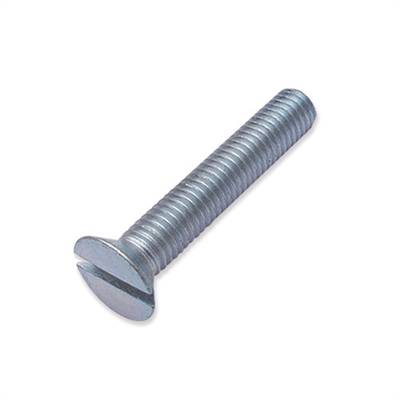 WP-SCW/41 - M8 x 45mm countersunk slot machine screw