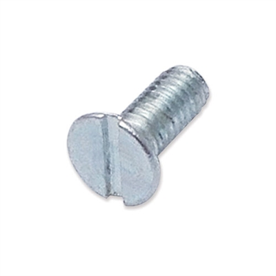 WP-SCW/48 - M4 x 10mm countersunk slot machine screw