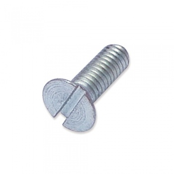 WP-SCW/03 - M4 x 12mm countersunk slot machine screw