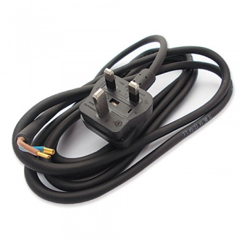 WP-T10/005 - 2 core cable and plug 230V UK T10 and T11