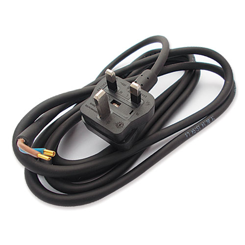 WP-T5/023 - Cable 2 core with plug UK 240V T5